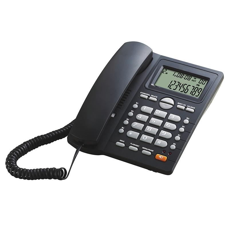 טלפון ביתי עם צג ענק ולחצנים נוחים